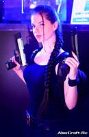 Lara Croft on Igromir by Anastasya01