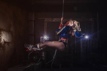 Harley Quinn -  I came in like the wrecking ball by Anastasya01