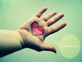 I heart you by fotojenny