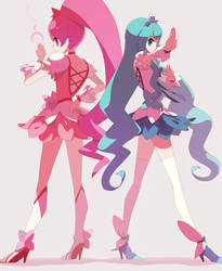 heartcatch pretty cure by Tomiokajiro