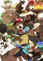 Pokemon BW by Tomiokajiro