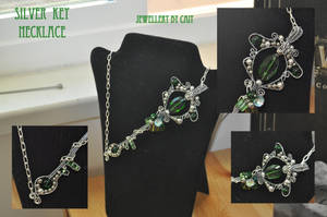 Silver Key Necklace by tanyquil
