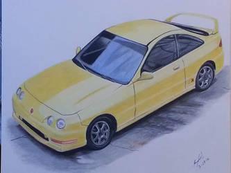Honda Integra type R by kkrex