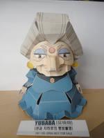 Yubaba Papercraft by studioofmm