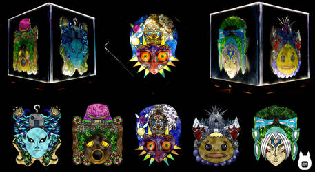 Majora's Mask Stained Glass Light (Tutorial) by studioofmm