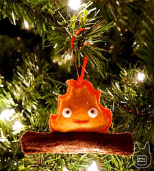 Calcifer Ornament (Tutorial) by studioofmm