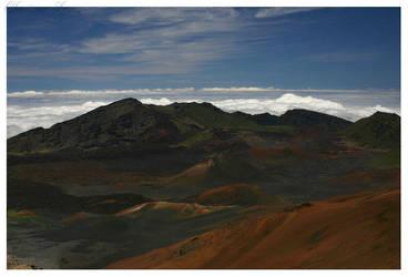 Haleakala Crater by CLanez
