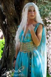 Daenerys Targaryen Qarth Cosplay by SoryArt