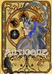 Antigone Vesper - Art Nouveau by SoryArt