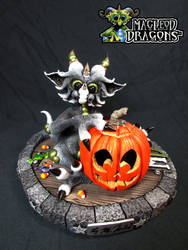 Halloween Dragon, 2015 by MacLeodDragons