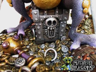 Treasure Dragon, 2015 (Treasure chest) by MacLeodDragons