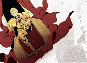 Archer1 of Strange Fake-Gilgamesh by Cit-kun