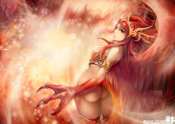 Phoenix by Wuduo
