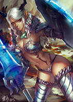 Tera lancer by Wuduo