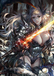 Flame blade by Wuduo