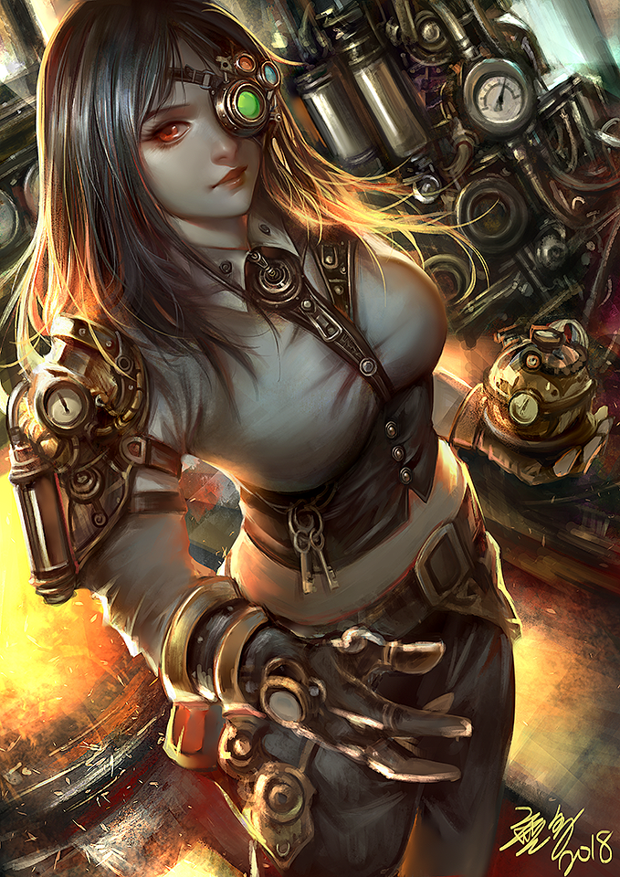 Steamgirl by Wuduo
