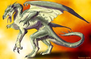 Taburo dragon by Tacimur