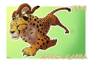 Garra and Naros EF18 roompic by Tacimur