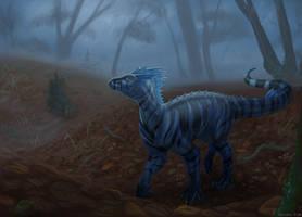 Blue Dragon Walkies by Tacimur