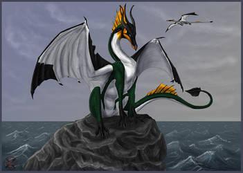 Frisian Penguin Dragon by Tacimur