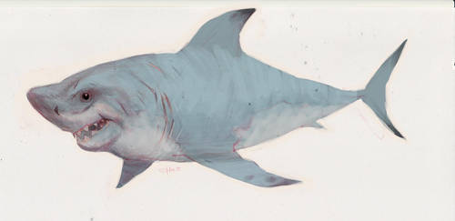 great white color quick 1 by ShaneCorn