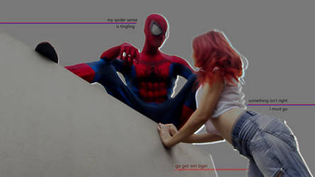 Spidey x MJ by luaili