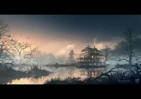 Swamphouse by draken4o