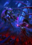Clash Of Queens by draken4o