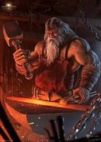 Able Blacksmith by draken4o