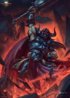 Warrior Card by draken4o