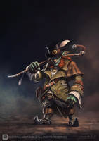 Lepricon SHopkeeper by draken4o