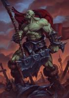 Warsong Hero by draken4o
