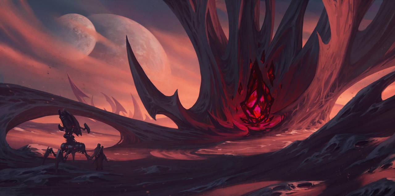 Alien Planet by draken4o