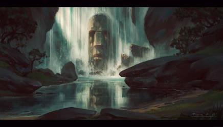 Stone Falls by draken4o
