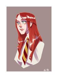 Miss Evans by Iulie-O