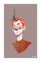 Mr R.B. Weasley by Iulie-O