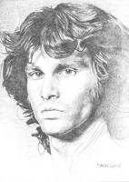 Jim Morrison by thedoorscomics