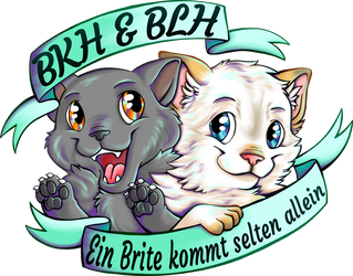 British Shorthair and Longhair Logo by Contugeo