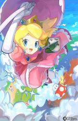 Princess Toadstool by JisuArt