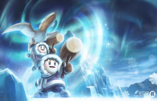 Ice Climbers by JisuArt