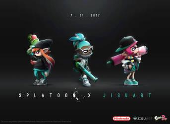 JisuArt x Splatoon + YOUTUBE VIDEO by JisuArt