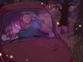 Drive (Night) by Spookoo