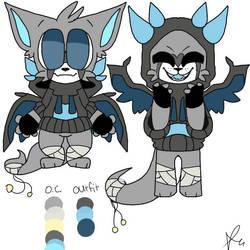 miaki's new design (read desc!!) by Nightdreamwolf12