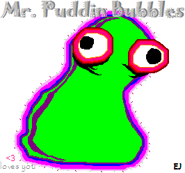 Mr. Puddin Bubbles by ExplosiveJesus