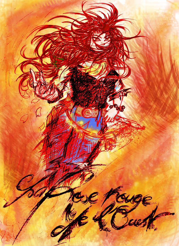 Cover of The Red Rose West by Rosa-Lynda