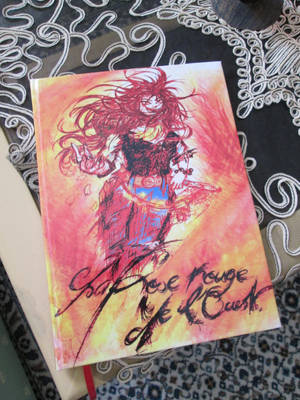 My first book : La Rose Rouge de l'Ouest by Rosa-Lynda