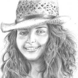 Portrait for a friend : Beautiful smile by Rosa-Lynda