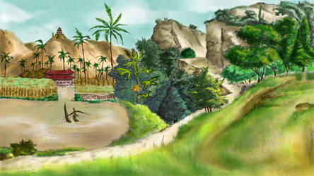 Some place on Earth by Rosa-Lynda