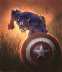 Captain America by Trance-Sephigoth