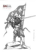 temerian's landsknecht by 2blind2draw